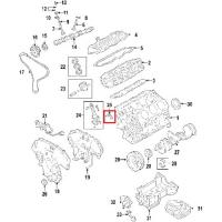 Nissan 12111-EA200 Connecting Rod Bearing