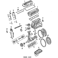Nissan 12208-40F00 Bearing Set