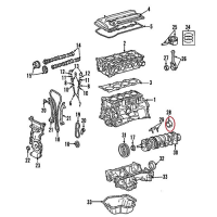 Nissan 12215-ck802 crankshaft bearing