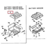 Isuzu 1-53612019-1 Battery Shell
