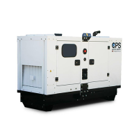 PERKINS CLOSED TYPE 9 KVA CANOPY