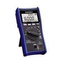 Digital multimeter with temperature and clamp current testing dt4251 hioki