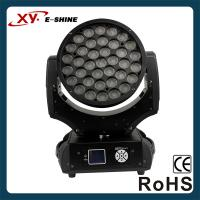 XY-600Z 37X10W RGBW 4IN1 LED ZOOM MOVING HEAD LIGHT