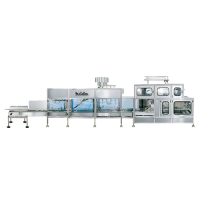 Automatic 5 litre Jar Rinsing, Filling and Capping Machine