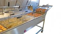 Everbake capway bongard bakery machines creare fritters frying line
