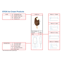 ICE CREAM EQUIPMENT STANDARD STICK