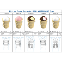 ICE CREAM EQUIPMENT WAFER CUP