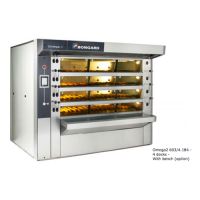 EVERBAKE CAPWAY BONGARD BAKERY OVENS OMEGA 2 ELECTRIC FLOOR OVEN 3 X 600MM