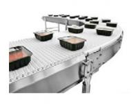 Air system flexlink stainless steel modular plastic belt conveyor