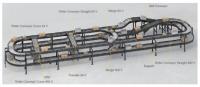 Air system interroll platform for conveyor modules