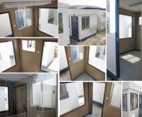 8' x 8' OPEN PLAN SECURITY CABINS
