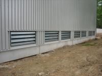 Noise Absorbing Grills