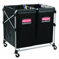 Rubbermaid x * split folding trolley