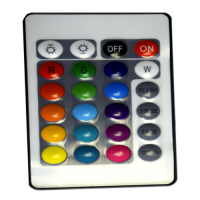 Rgb power led driver remote control for flood light