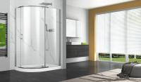 P02qo01 pivot series shower doors