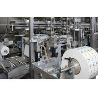 In mould labelling system