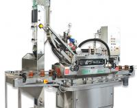 Closing and sealing machine