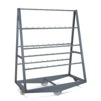Pyramid Trolley with Fixed Bars, Total 100 Hooks