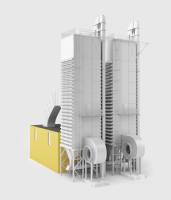 Zeo-dsp shaft grain drier