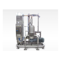 Continuous areating mixer – cam mousse