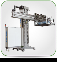 PALLETIZER END OF LINE MACHINE