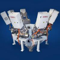 Volumetric feeders, dosing and microdosing powder and granular machine