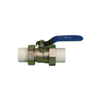 Double union ball valve, PPR pipe and fittings