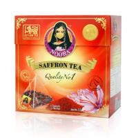SAFFRON PYRAMID TEA