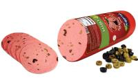Beef mortadella olives