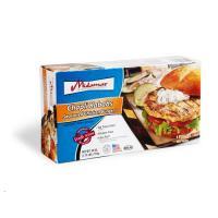 Halal Chapli Seasoned Chicken Burger