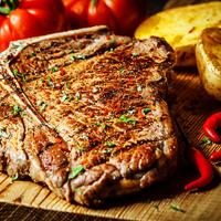 Halal 14oz T-bone Steak