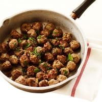 Halal Cooked Italian Style Meatballs