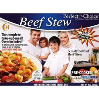 Perfect Choice Halal Beef Stew