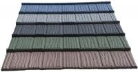 Colorful stone coated Markuti grained roofing tile