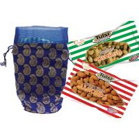 Wedding dry fruits gift pack of tulsi kishmish 500g + california almonds 500g