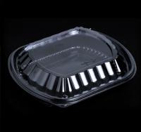 Food Container- 1 Compartment PP Black- FCB-1C
