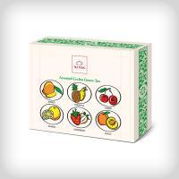Presentation green tea bag gift box