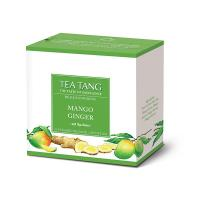 MANGO GINGER TEA 10 PYRAMID TEA BAGS