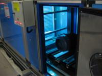 Uvc sterilizing systems for ahu cooling coil