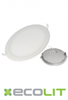 Round 20W RND Ecolit LED Panel Light