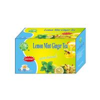 lemon ginger honey mint tea