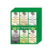 Card board box with tea bags sc1009