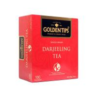 Golden Tips Darjeeling Black Tea - 100 Tea Bags