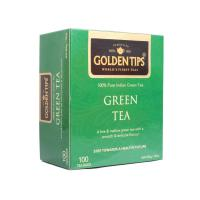 Golden Tips Green Tea - 100 Tea Bags - 200g
