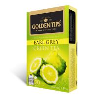 Earl Grey Green Envelope Tea - 20 Tea Bags 40gm