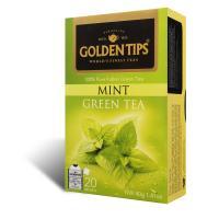 Mint Green Envelope Tea - 20 Tea Bags 40gm