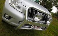 POLISHED ALLOY NUDGE BAR SUIT TOYOTA PRADO 150 (HIGH LOOP)