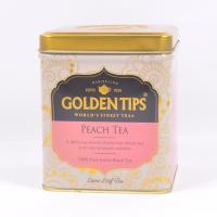 Golden Tips Peach Black Tea - Tin can 100g
