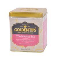Golden Tips Strawberry Black Tea - Tin can -100g