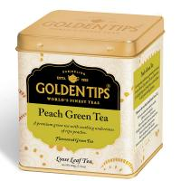 Peach Green Tea Tin Can -100gm